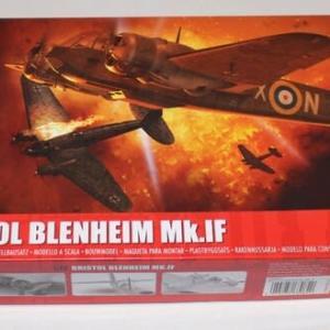 1/72 Bristol Blenheim製作