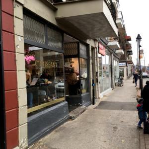 モントリオールのクロワッサン!croissant croissant