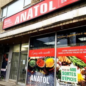 モントリオールのリトルイタリー!その2 スパイスとハーブのお店 ANATOL