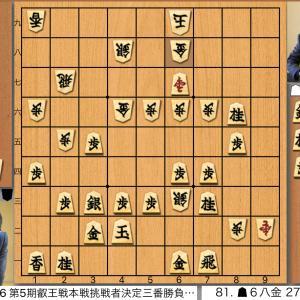 第5期叡王戦挑戦者決定戦 豊島将之竜王名人vs渡辺明三冠