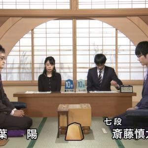 第69回NHK杯将棋トーナメント本戦 準決勝 稲葉陽八段vs斎藤慎太郎八段