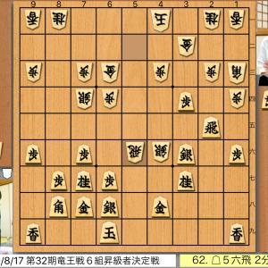 第32期竜王戦6組昇級者決定戦3回戦 佐々木大地五段vs高野秀行六段