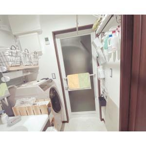 ⌘diy⌘洗面脱衣室の壁面収納