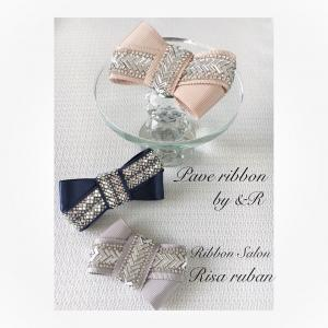NEW☆Pave ribbon by &R