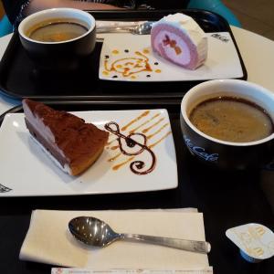 マクドいやマックカフェでお茶☕️