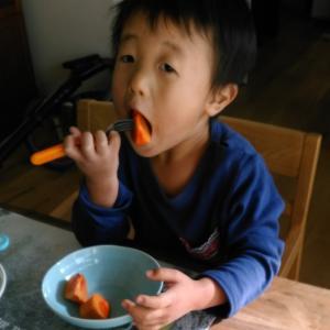 会員様に柿と柚子を頂きました〜柿と柚子の栄養素と効用とは?〜