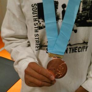 会員の方がスポーツクライミングの大会で全国3位となりました!