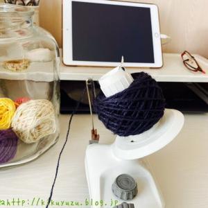 毛糸の整理と今日出来たバック