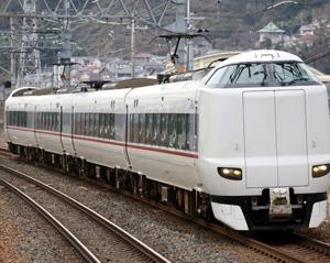 東海道本線を往くJR287系FA07編成