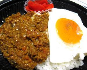 東海道本線を往くJR西日本683系と大国屋 野菜と大豆ミートのキーマカレー