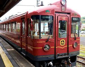 京都丹後鉄道KTR700形702 丹後あかまつ号と丹後ちりめん