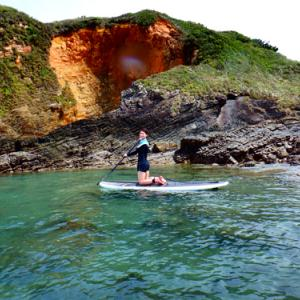 【オクマナビ】天気も良く、海も綺麗でばっちり大満足のサップツアー