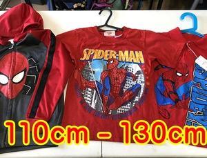人気のスパイダーマン服入荷しました!
