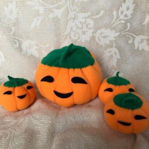 かぼちゃ人形・小さい子編