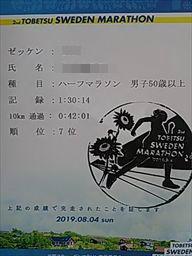 【速報】2019 当別スウェーデンマラソン(見事な快晴)