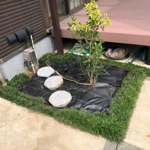 庭のイメージチェンジ(その2)!