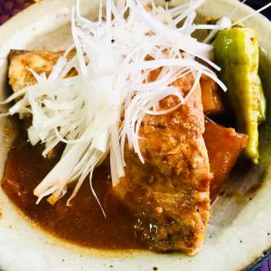 鯖の韓国風ピリ辛味噌煮!