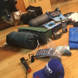 日本一周準備、持ち物