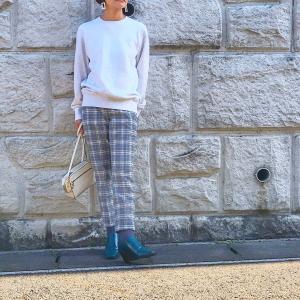 アラフィフ女子を明るく見せてくれたUNIQLO購入品とパンツの着丈でおしゃれが変わる♪