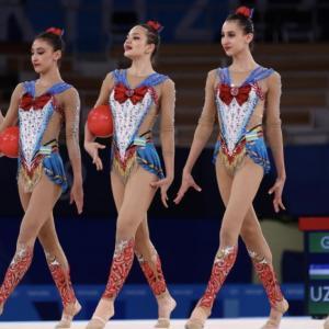 ウズベキスタンの新体操、かわいすぎでした