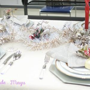 道新文化センターにて講座 食卓を演出するポイント クリスマス編♪