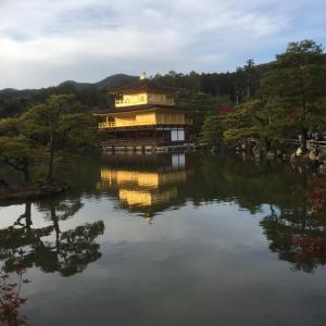日曜日金閣寺に行ったよ