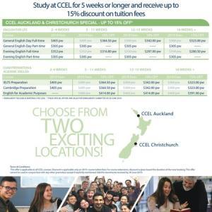 語学学校CCELの2019上半期 お得な日本人割引情報
