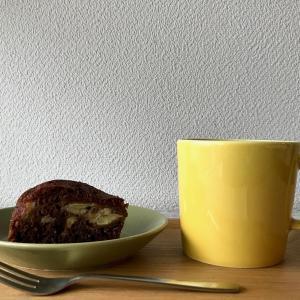 黒糖バナナ炊飯器ケーキと割れないくるみ