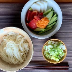 素麺(家飯)