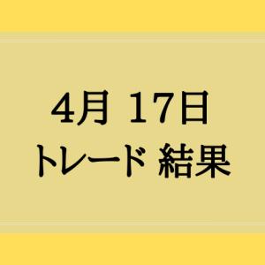 4月17日 トレード結果
