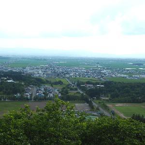 【登山】山頂までわずか15分ながら景色のいい当麻山