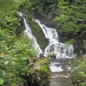 【景色】地元の人も行くことがない秘境の滝「黒岩の滝(西興部三滝③)」