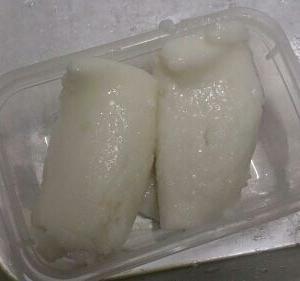 「嚥下食」ギョウザの皮 乗せるコツ