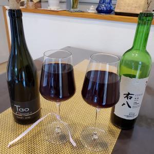 赤ワイン山梨県産シラーの飲み比べ