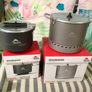 山具~MSR WindBurner Sauce Pot(2.5ℓ) / Stock Pot(4.5ℓ)