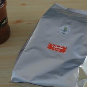 タイ産コーヒー ランパーンのPANG MA O からコーヒーが届いたのね。。