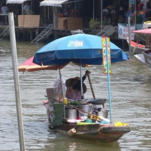 Amphawa Floating Market/ตลาดน้ำอัมพวาを歩く!Day1