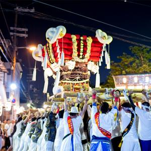 大和田太鼓祭り・福住吉神社の夏祭り