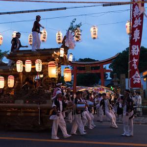 姫島の夏祭り だんじり曳行2017