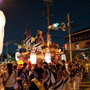 姫島の夏祭り だんじり曳行2019
