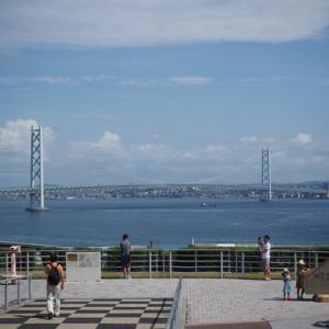 【番外:淡路島編】淡路島から見える明石海峡大橋の景色