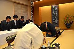 王位戦七番勝負〜第3戦1日目〜  羽生王位vs菅井七段