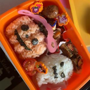 Halloween弁当🎃動物デコご飯