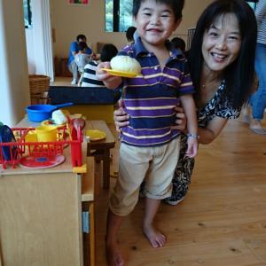 サポートのRくんと泉山幼稚園へ。そして幼稚園選びのポイントとは?