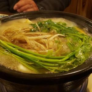秋月の 鴨すき鍋 は激ウマ! うどん、雑炊と最後までガッツリ楽しみました!