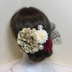 成人式用の髪飾り