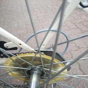 自転車が遅かった理由