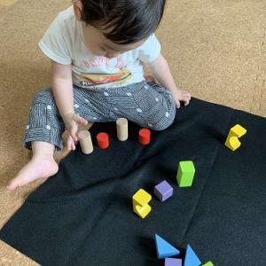 3歳までが一番脳細胞が育つんです!★ベビー色彩知育教室にて