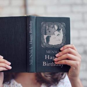 14回目の誕生日、めんま。