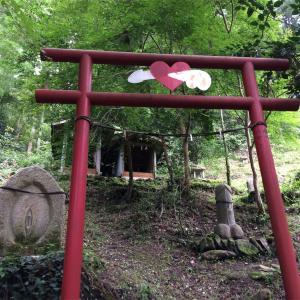 神社で赤面! 埼玉県境への道